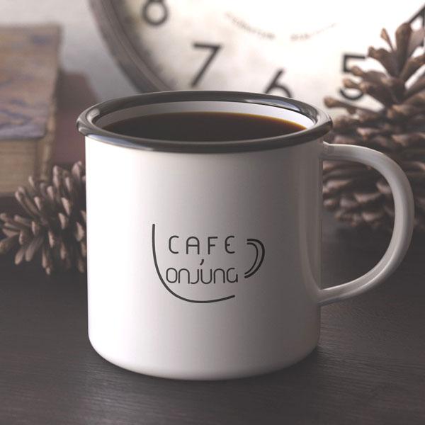 로고 디자인 | 카페,온정  | 라우드소싱 포트폴리오