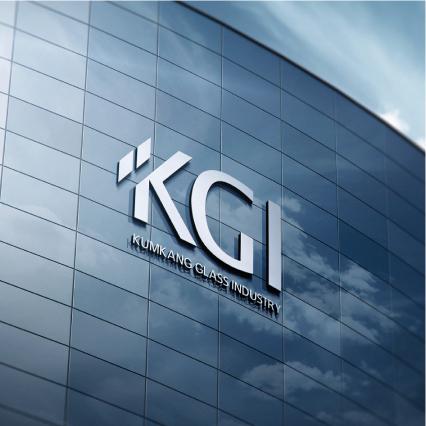 로고 디자인 | (주)KGI글라스 에서 ... | 라우드소싱 포트폴리오