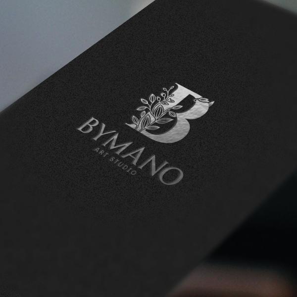 로고 + 간판 | BYMANO art studio | 라우드소싱 포트폴리오
