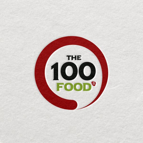 로고 디자인 | The100 FOOD | 라우드소싱 포트폴리오