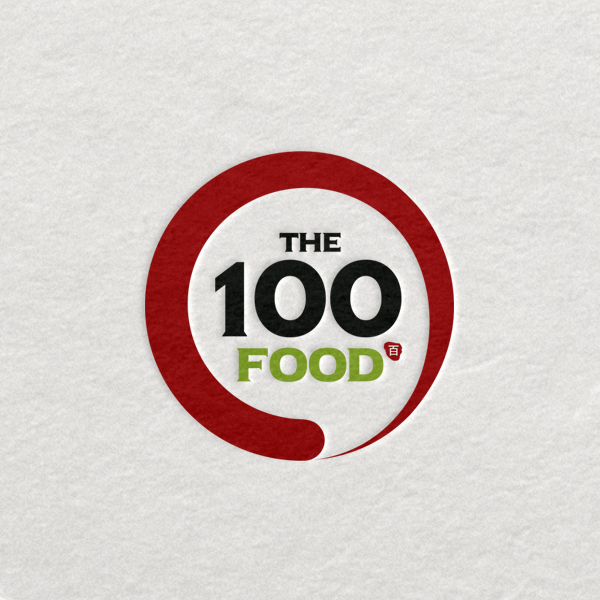 로고 디자인   The100 FOOD   라우드소싱 포트폴리오