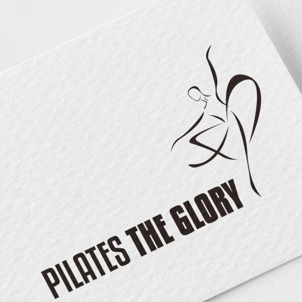 로고 디자인   PILATES THE GLORY   라우드소싱 포트폴리오