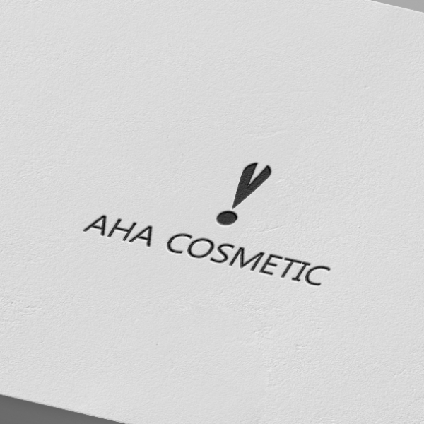 로고 디자인 | 아하 코스메틱 (aha cos... | 라우드소싱 포트폴리오