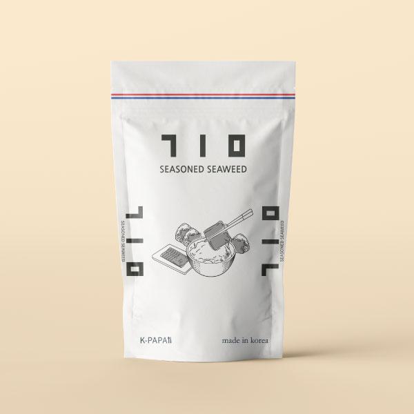 패키지 디자인 | 식품브랜드 [K-PAPA... | 라우드소싱 포트폴리오