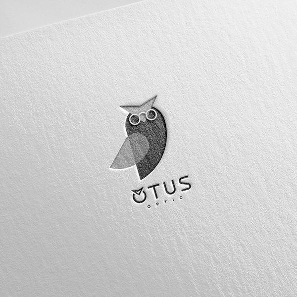 로고 + 간판 | 오투스 안경 | 라우드소싱 포트폴리오
