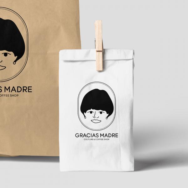 로고 디자인   그라시아스 마드레   라우드소싱 포트폴리오