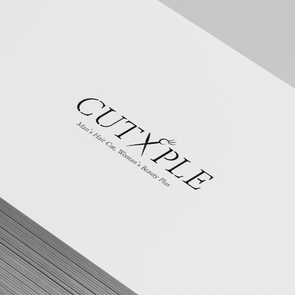 로고 + 간판   컷플CUT/PLE   라우드소싱 포트폴리오
