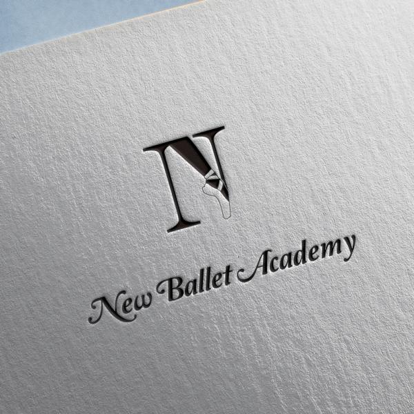 로고 + 간판 | 뉴 발레 아카데미(New Ba... | 라우드소싱 포트폴리오