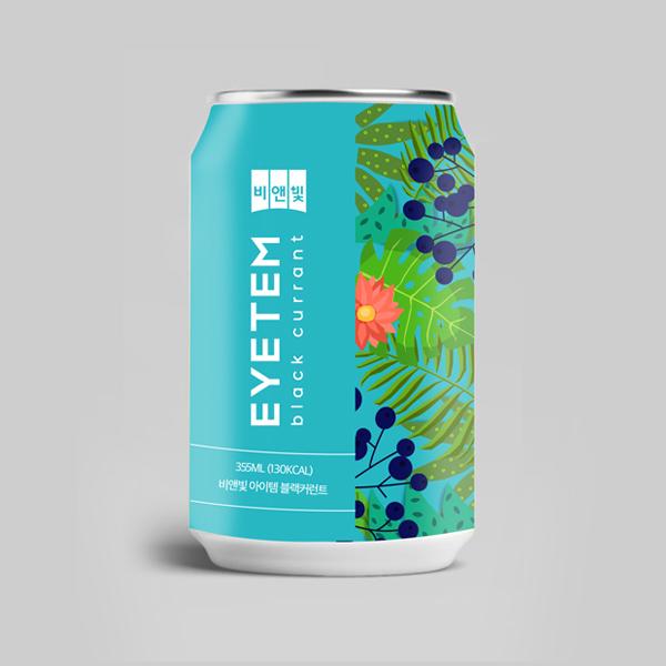 패키지 디자인 | 안과개발 음료 [비앤빛 ... | 라우드소싱 포트폴리오