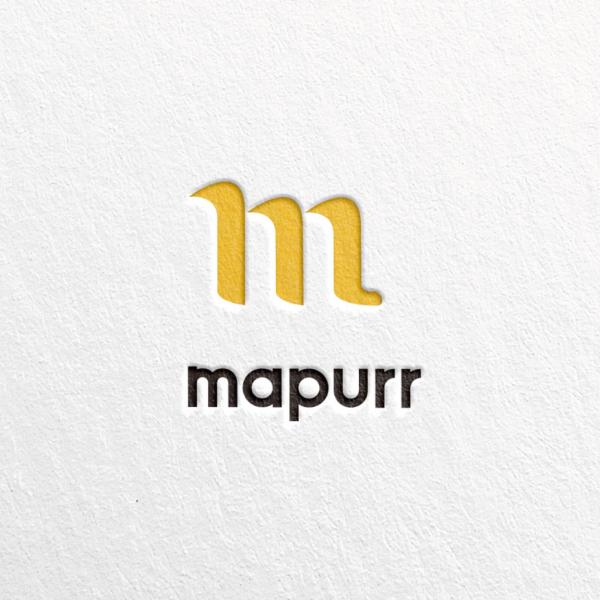 로고 디자인   mapurr   라우드소싱 포트폴리오