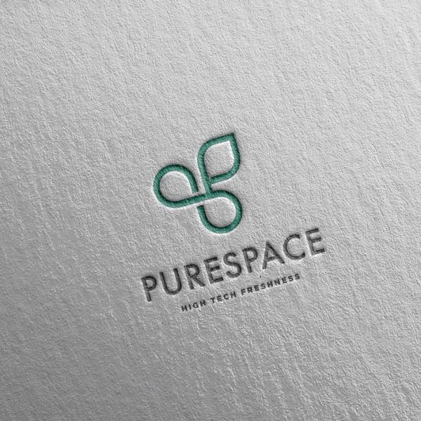 로고 + 명함 | 퓨어스페이스 (PureSpac... | 라우드소싱 포트폴리오