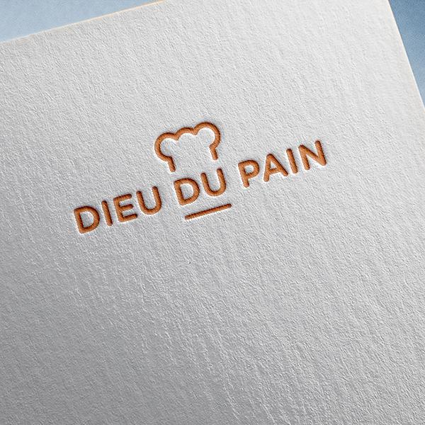 로고 + 명함 | dieu du pain ... | 라우드소싱 포트폴리오