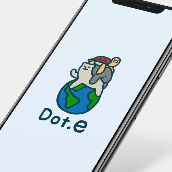 로고 디자인   Dot.e 로고 디자인 의뢰    라우드소싱 포트폴리오
