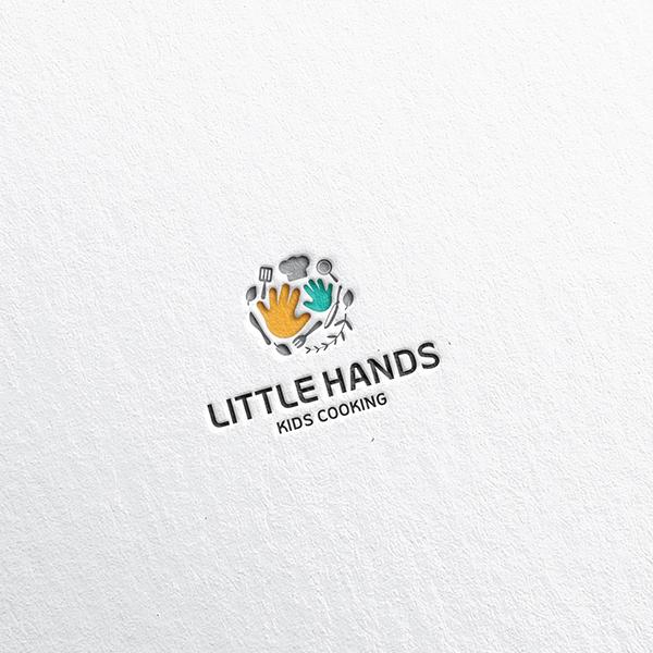 로고 디자인 | 리틀핸즈키즈쿠킹클래스 | 라우드소싱 포트폴리오