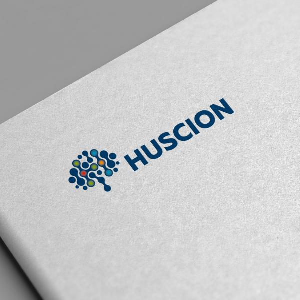 로고 + 명함 | 주식회사 휴사이온, Huscion | 라우드소싱 포트폴리오