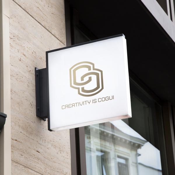 로고 + 명함 | 크리에이티비티 이즈 고귀 | 라우드소싱 포트폴리오