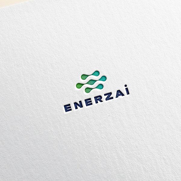 로고 + 명함   ENERZAi (에너자이)   라우드소싱 포트폴리오