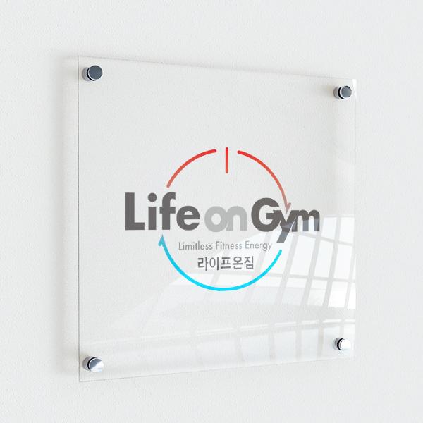 로고 + 명함   라이프온짐(Lifeon Gym)   라우드소싱 포트폴리오