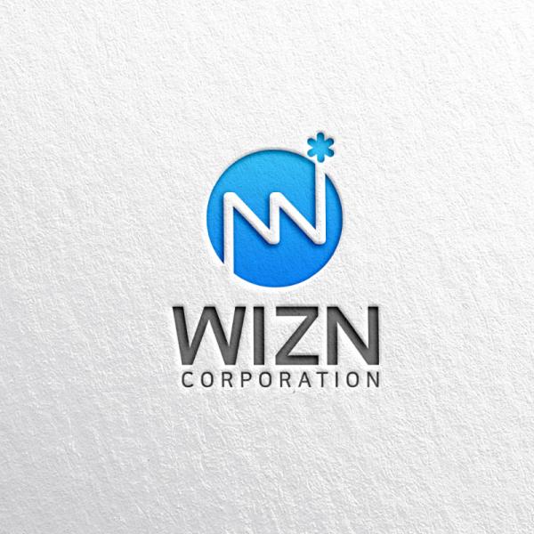 로고 디자인 | WiZN (위즈엔) | 라우드소싱 포트폴리오