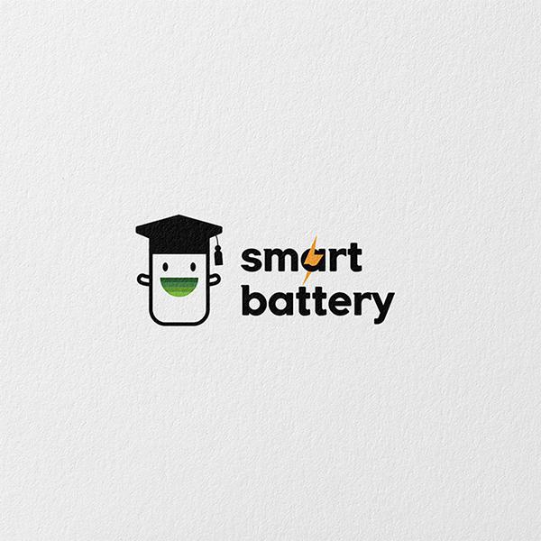 로고 디자인 | 똑똑한배터리 | 라우드소싱 포트폴리오