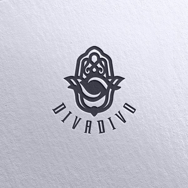 로고 + 명함 | DIVADIVO 로고 디... | 라우드소싱 포트폴리오