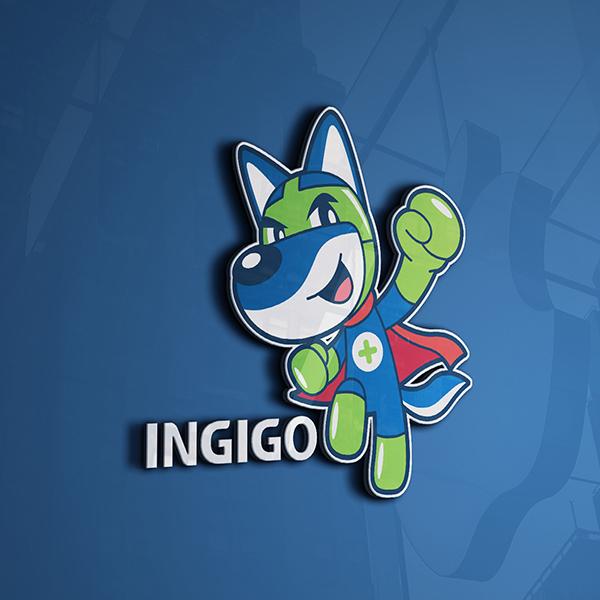 일러스트 | INGIGO 안전 캐릭터... | 라우드소싱 포트폴리오