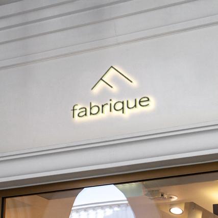 로고 디자인 | fabrique (파브리끄) | 라우드소싱 포트폴리오
