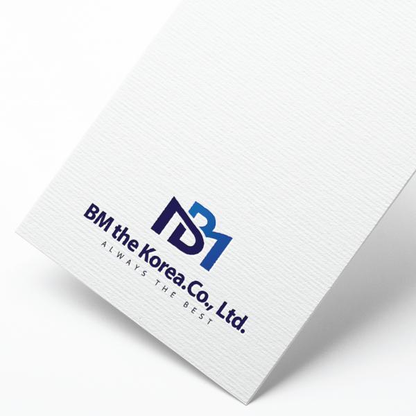 로고 + 명함 | (주)비엠더코리아 | 라우드소싱 포트폴리오