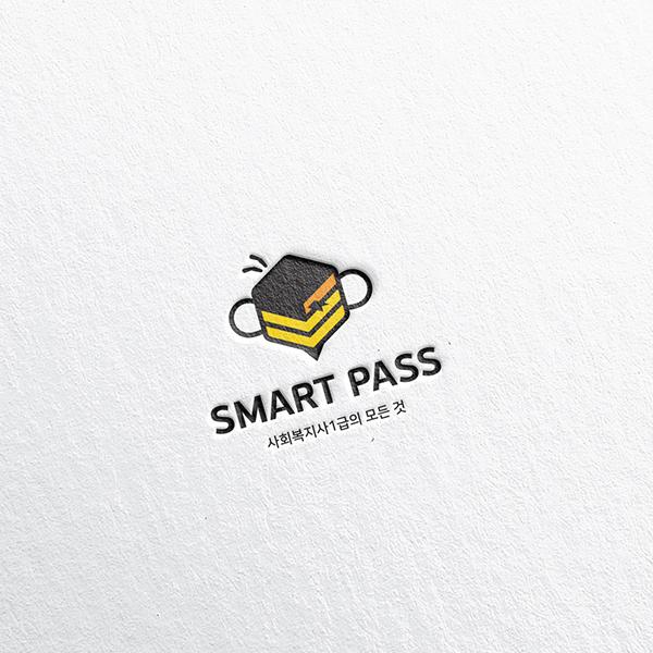 로고 디자인 | SMART PASS 로고... | 라우드소싱 포트폴리오