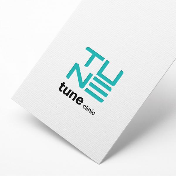 로고 + 간판   튠 클리닉   라우드소싱 포트폴리오