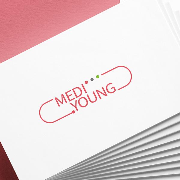 로고 디자인   MEDI YOUNG 로고...   라우드소싱 포트폴리오