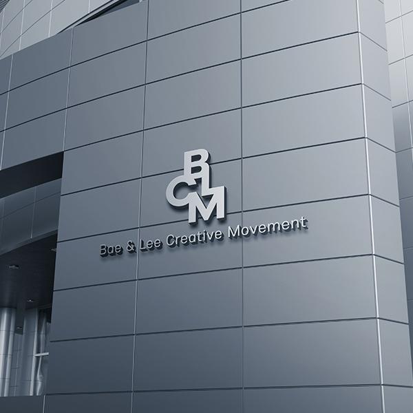 로고 + 명함 | BLCM 로고, 명함 디... | 라우드소싱 포트폴리오