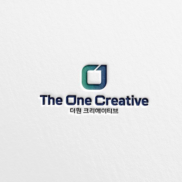 로고 디자인 | 더원 크리에이티브 로고 ... | 라우드소싱 포트폴리오