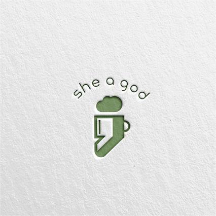 로고 디자인   쉬어갓(she a god)   라우드소싱 포트폴리오