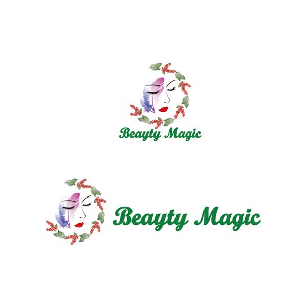 로고 디자인 | BEAUTY MAGIC | 라우드소싱 포트폴리오