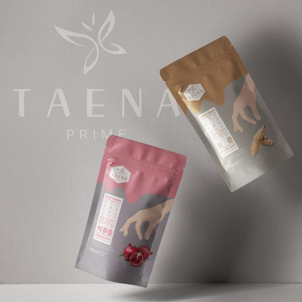 패키지 디자인   TAENA   라우드소싱 포트폴리오