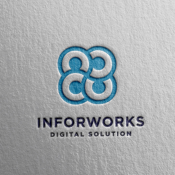 로고 + 명함   인포웍스닷컴 주식회사 (INF...   라우드소싱 포트폴리오