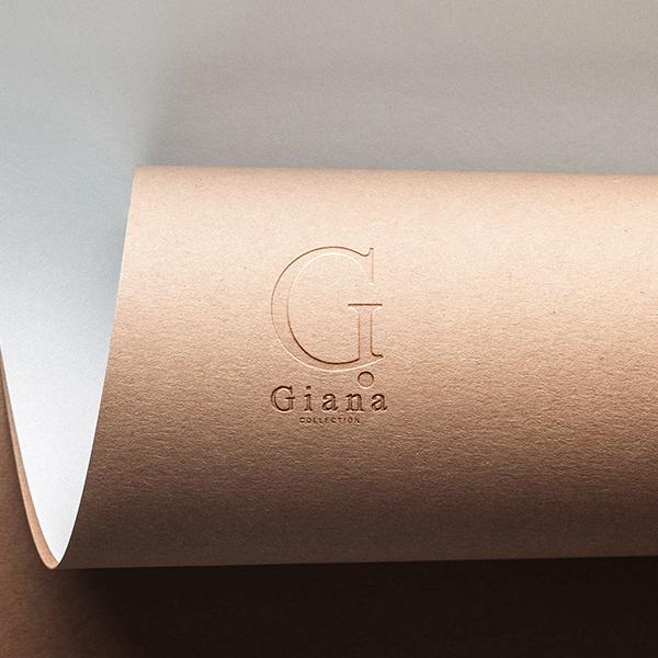 로고 디자인 | Giana Collection | 라우드소싱 포트폴리오