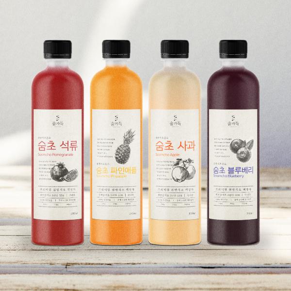라벨 디자인 | 천연식초음료
