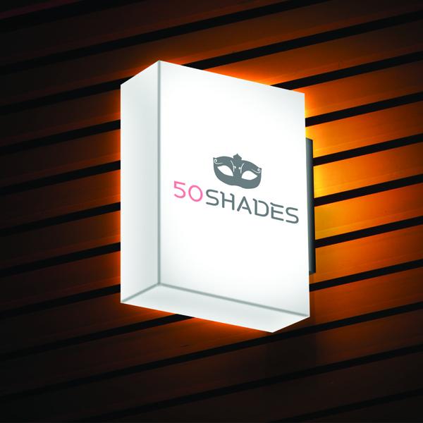 로고 + 간판 | Fifty Shades | 라우드소싱 포트폴리오