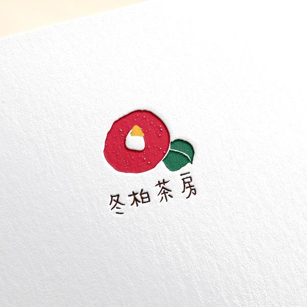 로고 + 명함 | 동백다방 로고+명함 디자... | 라우드소싱 포트폴리오