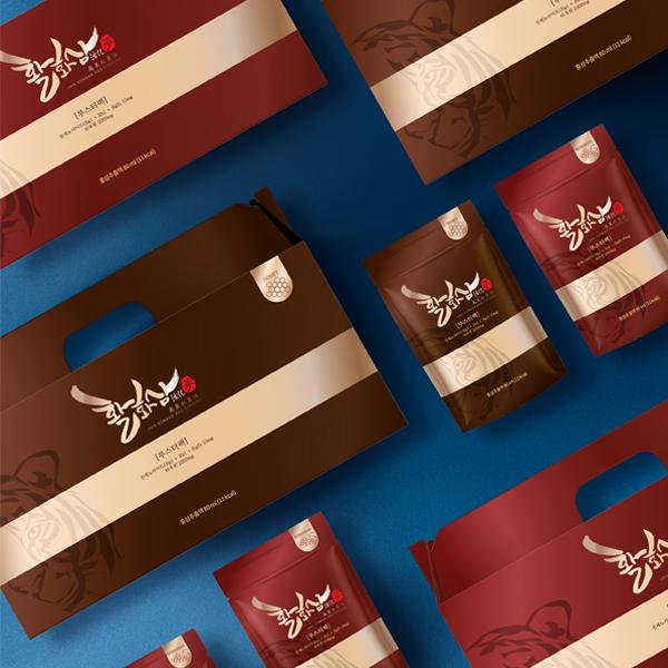 패키지 디자인 | 건강기능식품(홍삼) 패키... | 라우드소싱 포트폴리오