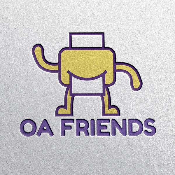 로고 디자인 | OAFRIENDS 로고디... | 라우드소싱 포트폴리오
