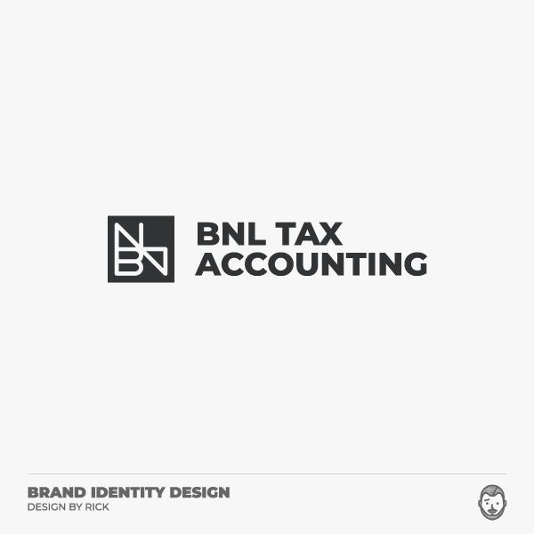 로고 + 명함 | 비앤엘세무회계(BNL T... | 라우드소싱 포트폴리오