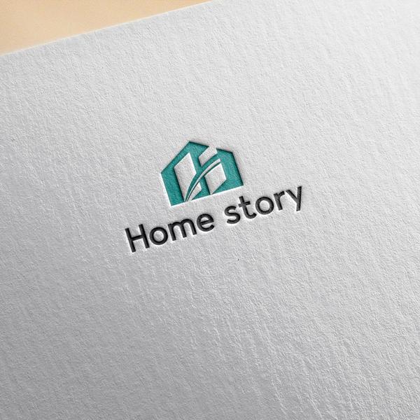 로고 디자인 | 홈 스토리(Home story) | 라우드소싱 포트폴리오