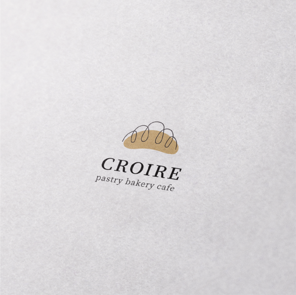 로고 + 명함 | CROIRE 베이커리카페... | 라우드소싱 포트폴리오