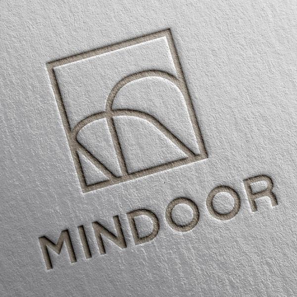 로고 + 명함 | mindoor | 라우드소싱 포트폴리오