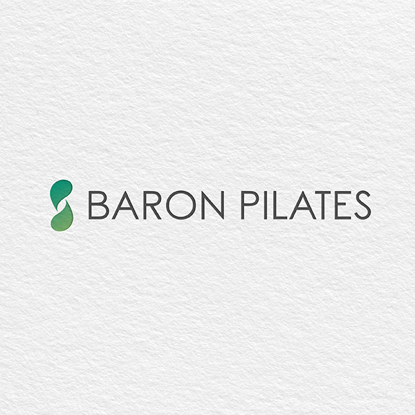 로고 + 명함   바론 필라테스   라우드소싱 포트폴리오