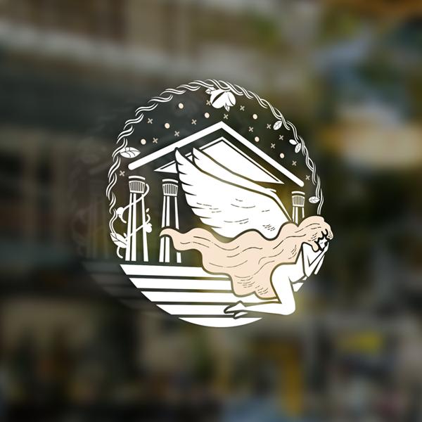 로고 + 간판 | 카페 편안[便安]... | 라우드소싱 포트폴리오