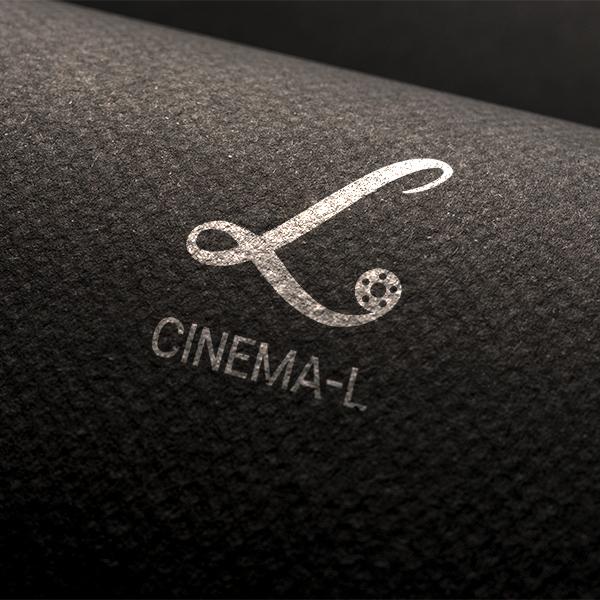 로고 + 명함   CINEMA-L   라우드소싱 포트폴리오